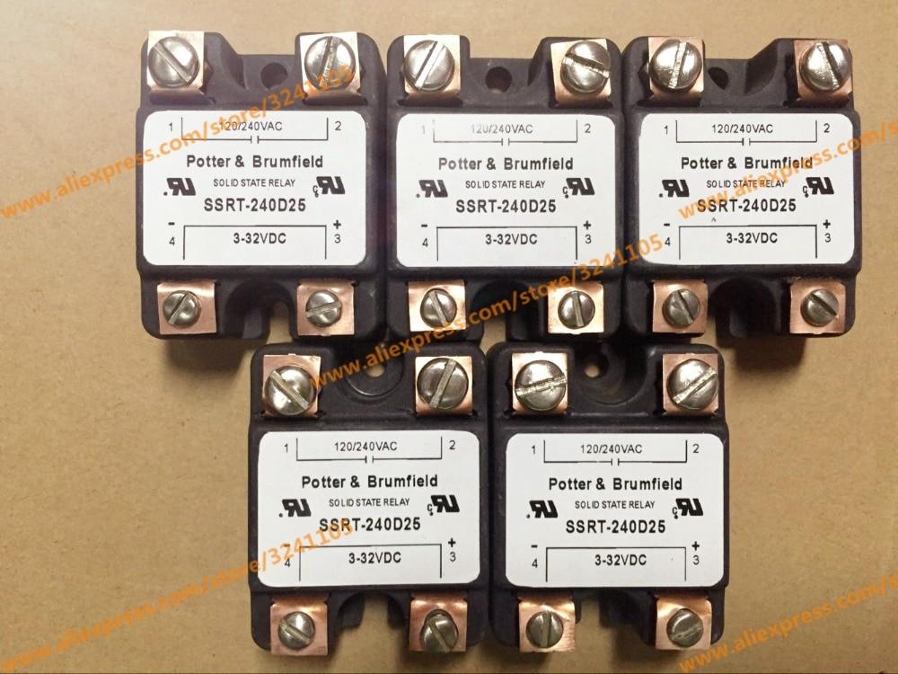 цена на Free shipping NEW SSRT-240D25 3-32VDC MODULE