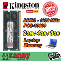 Kingston notebook laptop memoria RAM DDR3 2 GB 4 GB 8 GB 1333 MHz 204 Pin SODIMM no ecc por mayor para Lenovo ThinkPad SONY Acer Dell
