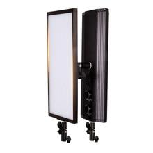 GSKAIWEN 60 واط 240 قطعة ثنائية اللون LED الفيديو الضوئي التصوير استوديو الإضاءة لينة مصباح عكس الضوء إضاءة صور للتصوير الكاميرا