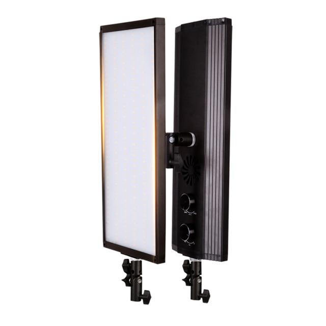 GSKAIWEN 60 Вт 240 шт. двухцветный светодиодный светильник для видеосъемки, студийный светильник для фотографии, мягкая лампа с регулируемой яркостью, светильник для фотосъемки
