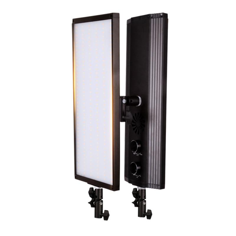 GSKAIWEN 60 w 240 pcs Bi-couleur LED Vidéo Lumière Photographie Studio Éclairage Doux Lampe Dimmable Photo lumière Pour caméra Tir