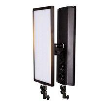 GSKAIWEN, 60W, 240 uds, luz LED bicolor para vídeo, iluminación de estudio de fotografía, lámpara suave, regulable, luz de foto para grabación de cámara