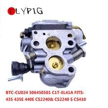 Carburetor Carb for Husqvarna 435 435e 440 440e Jonsared CS410 CS2240 Chainsaw Trimmer # 506450501