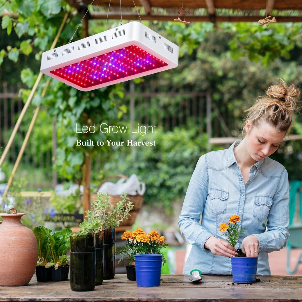 Led Grow Light 300W Full Spectrum Red Blue Plant Lamp Seed Veg Flower Hydroponics for Indoor Tent Box Greenhouse Customs Free now foods plant enzymes 120 veg capsules free shipping