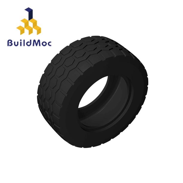 BuildMOC Compatible Assembles Particles 15413/56145 Black 49.5x20mm For Building Blocks Parts DIY Enlighten Educational Tech Toy