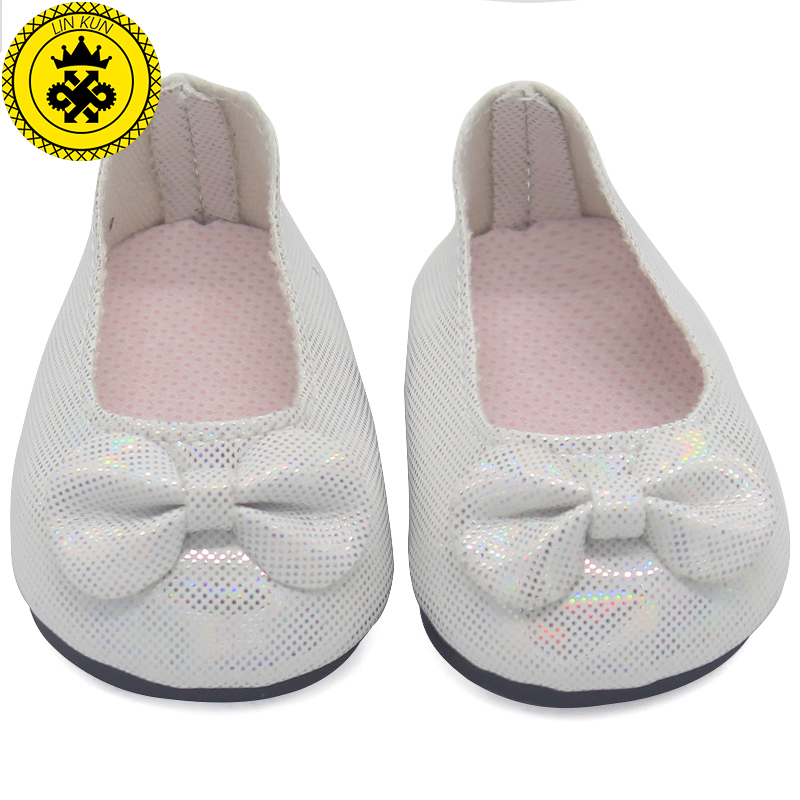 Doll Shoes Fits 18 inch American Girl Doll Black and white Shoes Casual Shoes Doll Accessories