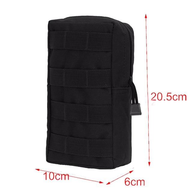 Sports Military MOLLE Pouch Vest Bag 6