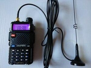 Image 1 - 2pcs UT 108 ווקי טוקי אנטנה נייד CB רדיו Baofeng UV 5R BF 888S UV82 Dual Band סופר מגנט נייד אנטנה