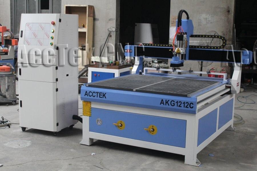 Cambiador de herramientas automático enrutador cnc máquina de grabado para madera acrílico barato y fino exw precio