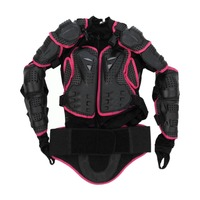 Motocross Dirt Bike Full Body Armour Jacket Chest Shoulder Elbow Plastic Coverage Quad Motorcycle Protect Suit dropshipping