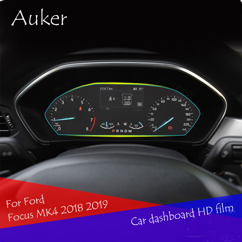 Car Driving Dashboard Soft HD Screen Protective Film For Ford Focus Focus4 MK4 2018 2019