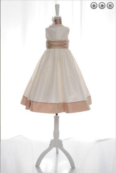 free shipping flower girl dresses for weddings 2013 ivory first communion dress little girl christmas pageant dresses for girls
