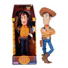 15 pulgadas juguete historia 3 hablando Woody acción figuras de juguete  coleccionable modelo juguetes de Pvc muñeca de dibujos a. 64349210c94