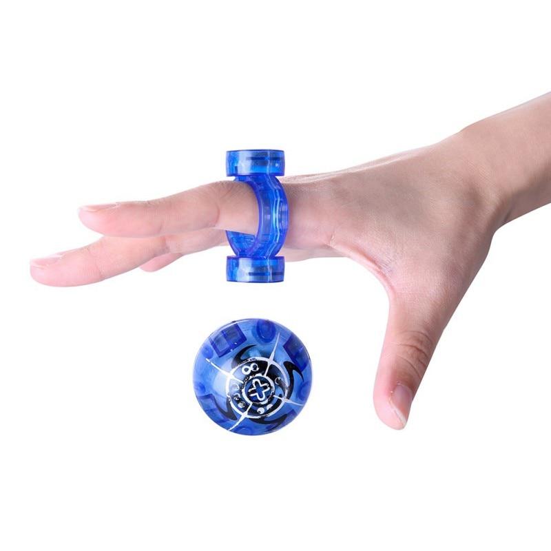 NEW!Luminous Magnetic Ball Toys For Children Creative Education Fingertips Fidget Spinner Anti Stress Color Random