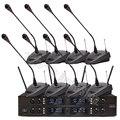 UHF беспроводной микрофон Система стол гусиная шея конференц микрофон Регулируемая частота Конденсатор Запись Студия микрофон