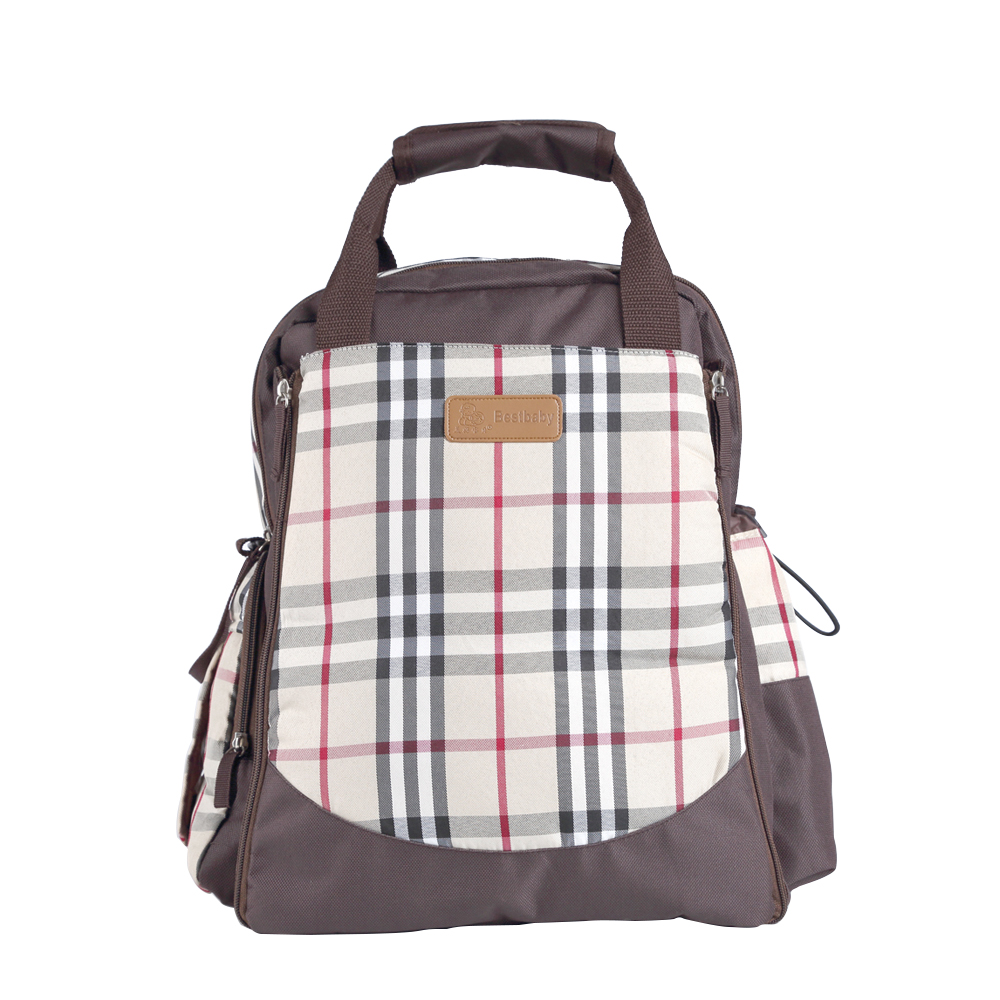 ФОТО High quality backpack baby diaper bags fashion stroller bag baby care mummy nappy handbag MH3005