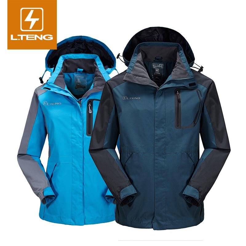 2016 Spring Men Jacket Waterproof Hoodies Windbreaker Zippers Outdoor Sportswear Women Coats Outerwear 1303 - Lifes store