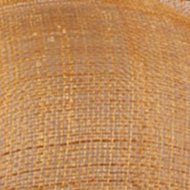 Шляпки из соломки синамей с вуалеткой перья, модные аксессуары для волос популярный свадебный Шляпы очень хороший Новое поступление несколько цветов - Цвет: Золотой