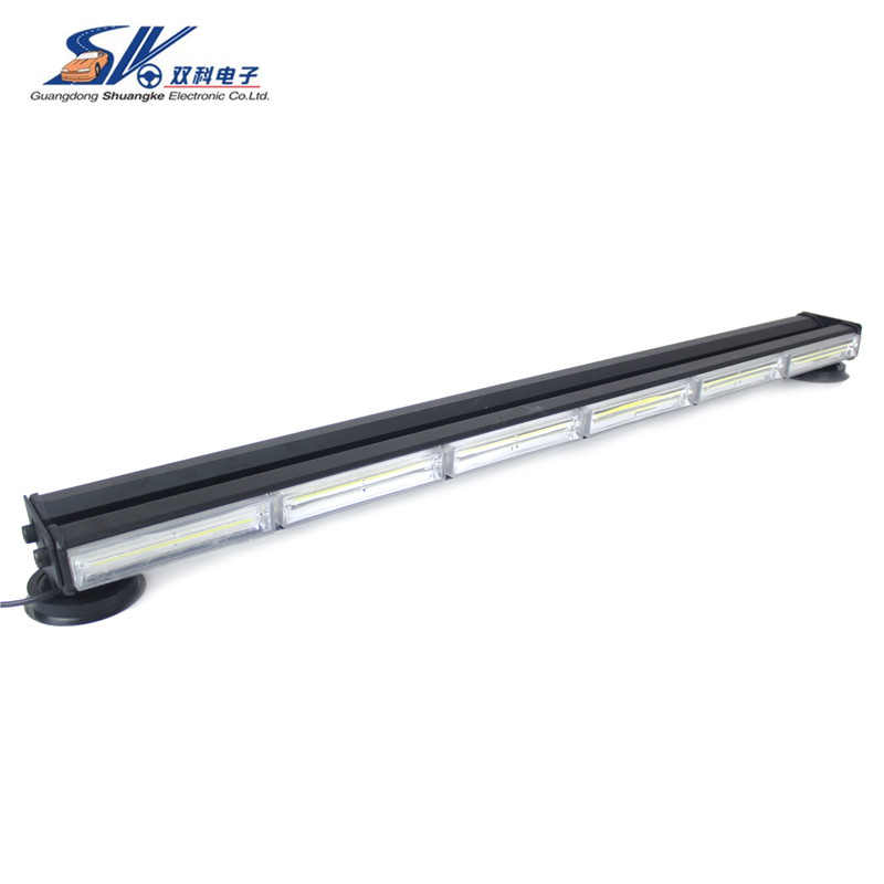 36 180W double side brightest amber white COB LED Car LED strobe led work high quality Traffic Advisors light bar