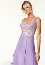 2015 echt Kristall Prom Kleider New Charming Dicken Riemen A-linie Kristalle Chiffon-Kleid Bodenlangen Langes Abendkleid F376