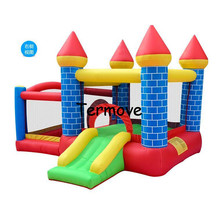 inflatable backyard bouncy castle Free Shipping Hot Sale Outdoors Inflatable Mini Bouncer combo bounce Kids Indoor Bouncer