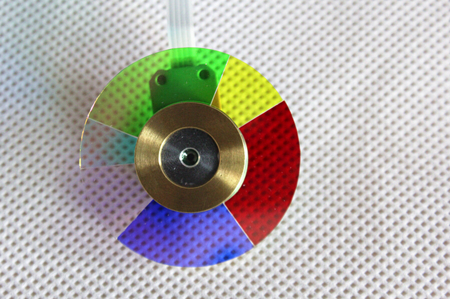 NEW original Projector Color Wheel for dell 4310WX / 4210X / 4310X wheel color with Three Months Warranty free shipping new original projector color wheel for benq pb8245 with three months warranty