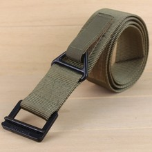 Tactical belt military Nylon webbing for outdoor