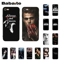 Babaite The Vampire Diaries Phone Case for iphone 11 Pro 11Pro Max 8 7 6 6S Plus X XS MAX 5 5S SE XR yinuoda the vampire diaries ian somerhalder luxury phonecase for iphone8 7 6 6s 6plus x xs max 5 5s se xr 10 11 11pro 11promax