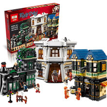 Harry Potter Hermione 2025cs Diagon Alley Ron Weasley Goblin Building Blocks Bricks Set Toy Compatible With Lego 10217 Lepin(China (Mainland))