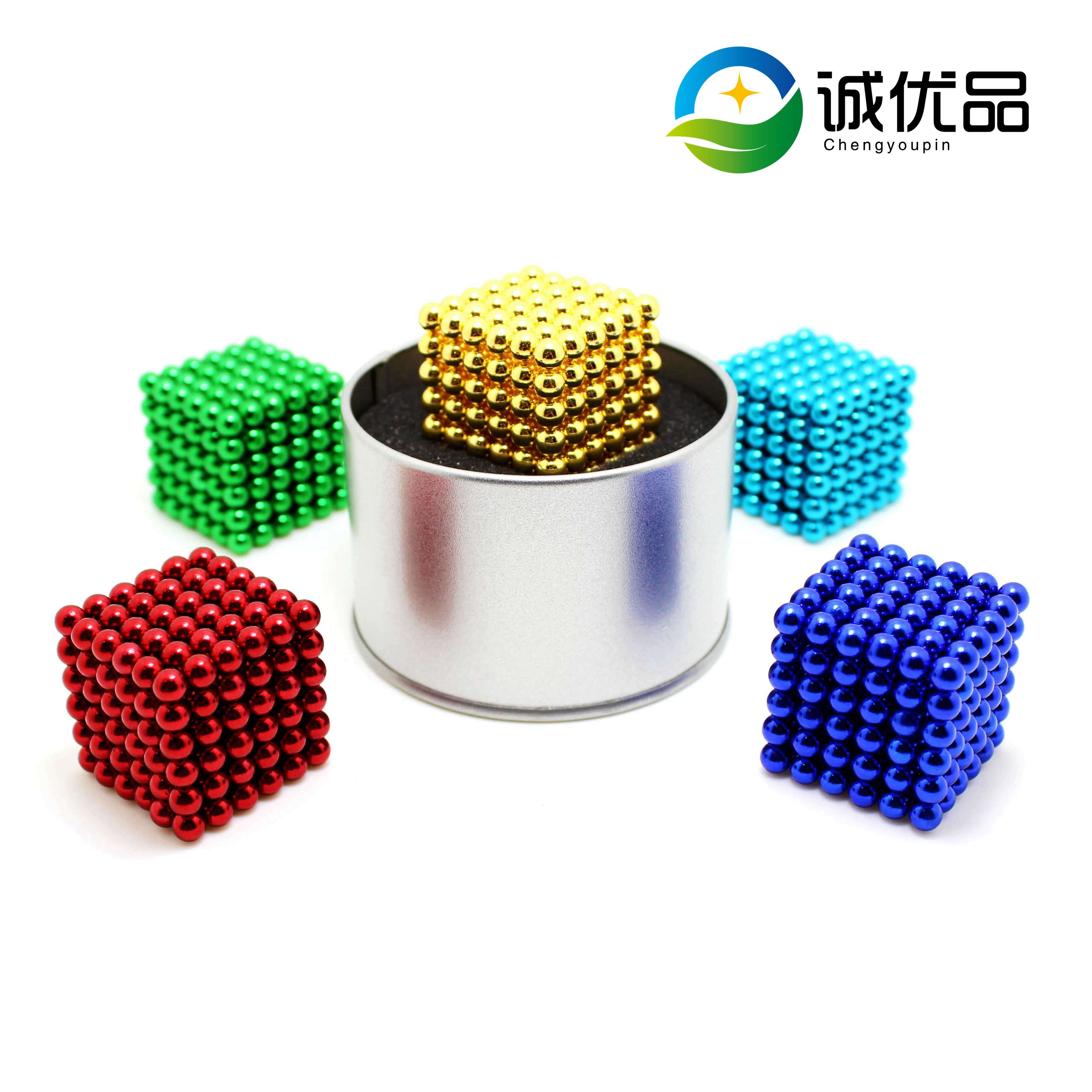 Big Pack 512PCS Alpha Magic Balls Rainbow This Magnetic Building Set Is Great for Educational Development and Stress Relief for Teenagers /& Adults With case 5MM