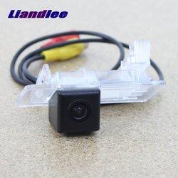 Liandlee dla Skoda Yeti 2014 2015/widok z tyłu samochodu kamera/cofania kamera cofania/HD CCD Night Vision + odporne na wodę|Kamery pojazdowe|Samochody i motocykle -