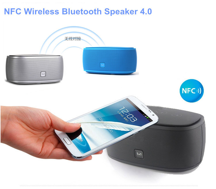 Outdoor Sport Shockproof Dust-proof Portable Bluetooth 4.0 Speaker NFC 1+1 Wireless speaker - ShenZhen Oh-Box Information Technology Co., Ltd. store