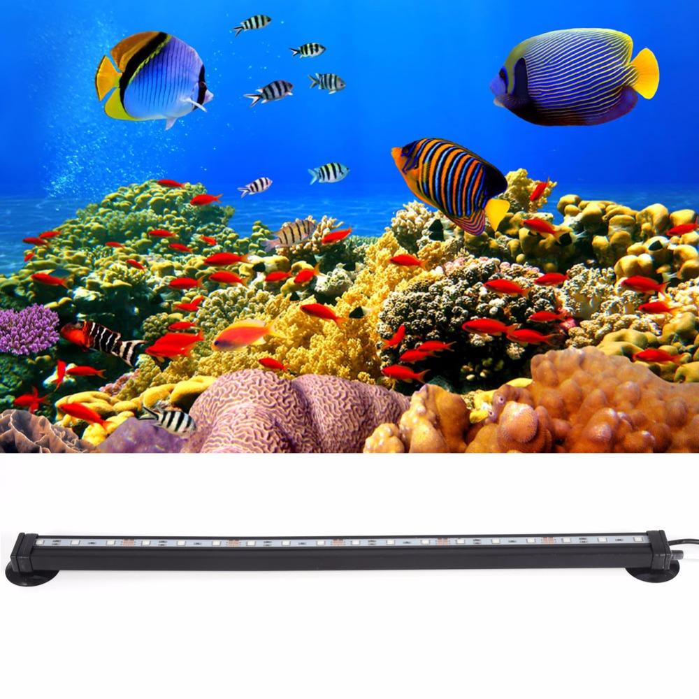 Study Room With Aquarium: 46cm 5050 Rgb Led Aquarium Light Lighting Submersible Air