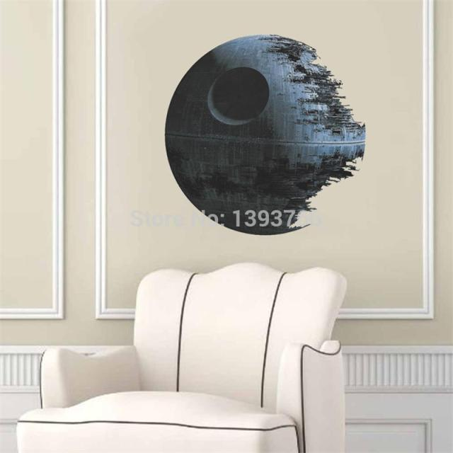Star Wars Death Star 3D Artwork Wall Sticker