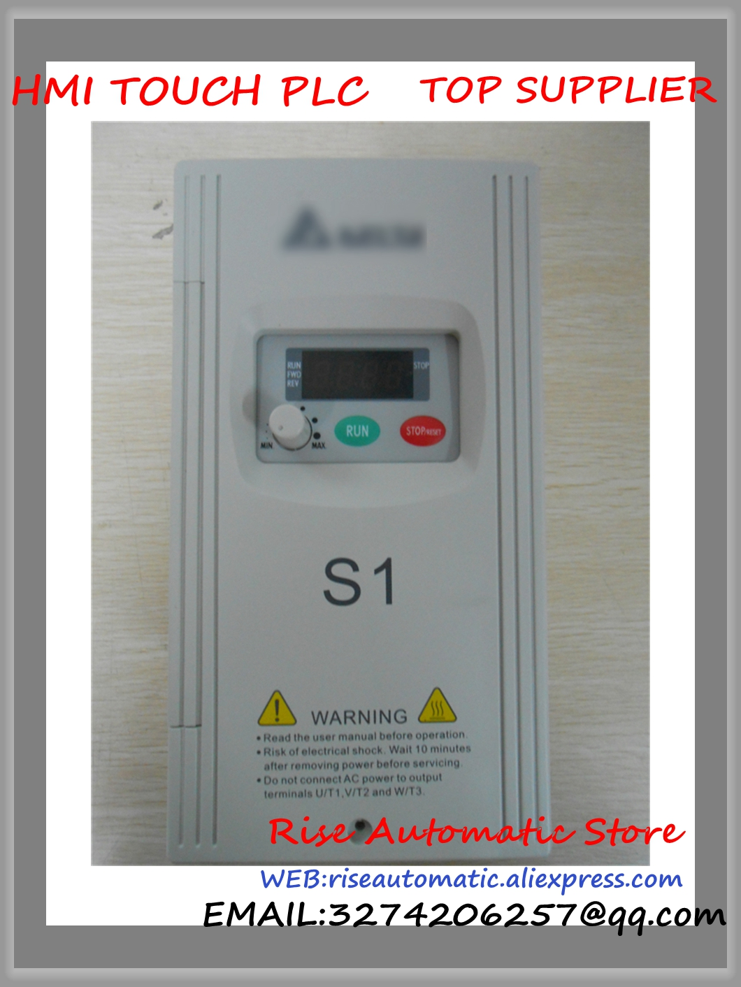 VFD-S Inverter AC motor drive 3 phase 220V 400W 0.5HP 2.5A 400HZ new VFD004S23A Delta