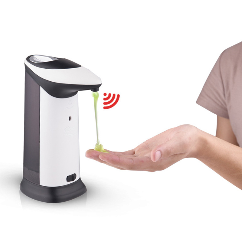 420 мл инфракрасный датчик музыка мыла для малыша очистки рук Жидкое Мыло окне для домашнего использования