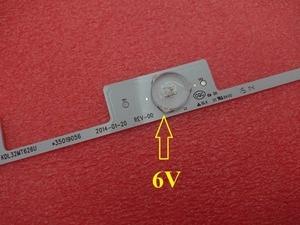 Image 3 - New 100 PCS(50*3LED*6V+50*4LED*6V) LED backlight strip for KDL32MT626U 35019055 35019056
