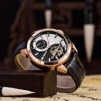 時間 100 メンズ新高級時計自動機械式時計男性ビジネス防水スポーツ腕時計レロジオ Masculino