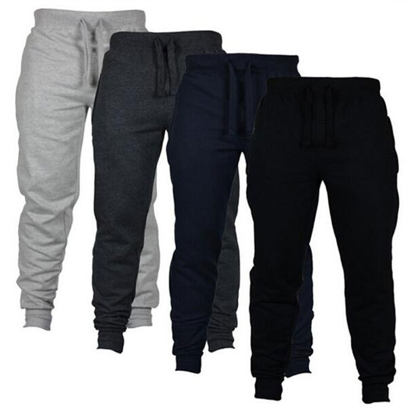 Eqmpowy Pants Casual Sweatpants Solid Fashion high street Trousers Pants Men Joggers oversize brand high quality gray pants