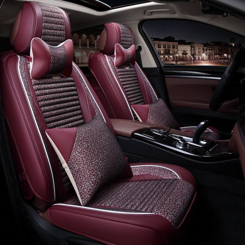 À votre goût accessoires auto universels de luxe en cuir nouveaux coussins de siège de voiture pour Chevrolet Optra MALIBU MALIBU XL CAMERO Epica