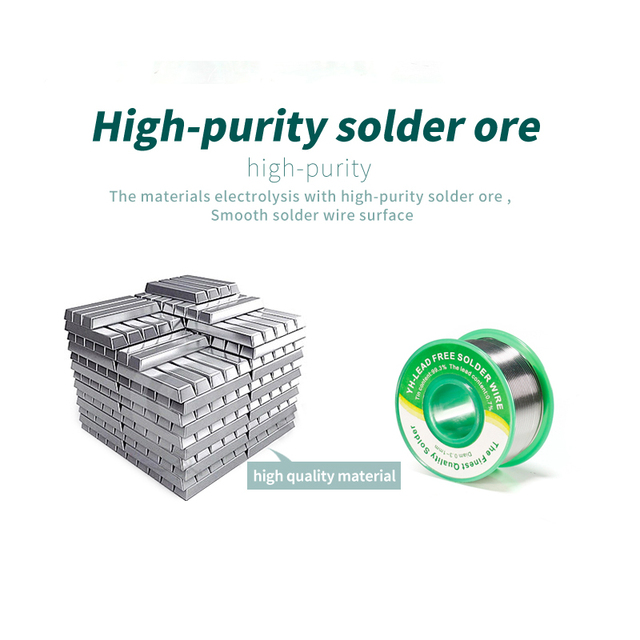 YIHUA Wire Environmentally Friendly lead-free Solder Wire with 0.8mm 1.0mm High quality solder wire Tin line solder 3
