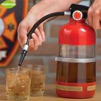 1pcs Creative Fire Extinguisher Drink Dispenser Liquid Water Juice Wine Soda Drink Alcohol Cocktail Beverage Dispenser