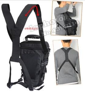 Image 5 - DSLR Camera Bag Handbag Telephoto Lens Pouch Case Waterproof Multi function for Canon Nikon Sony 70 200mm 2.8, 80 400 100 400 mm