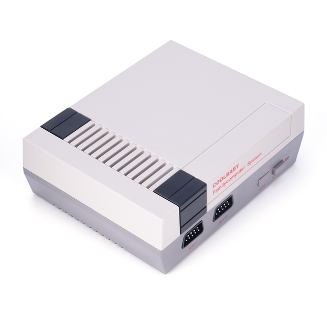 Port Classic NES Game Machine Mini TV Handheld Game Console HD Video 500 Games Inside with Dual gamepad Control