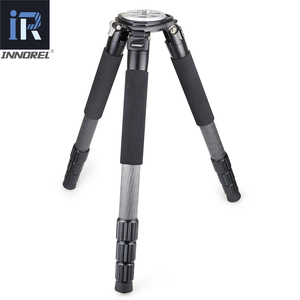 Image 2 - RT90C(LT404C) Top Level Carbon Fiber Tripod professional Birdwatching Heavy Duty Camera Stand 40mm Tube 40kg Load 75mm Adapter