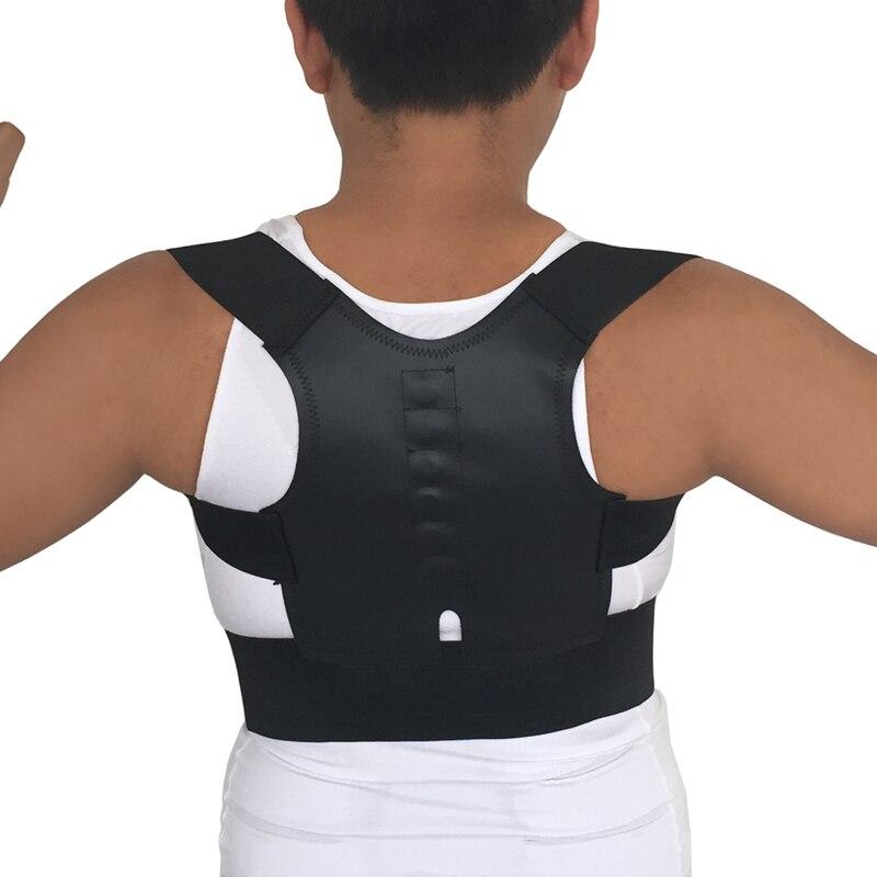 Adjustable Magnetic Posture Corrector Spine Support Brace Back Shoulder Lumbar Support Belt Corset Lower Back Pain for Women Men