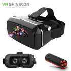 VR Shinecon VR Glasses Virtual Reality VR 3D Glasses 3D Cardboard Virtual Reality VR Glasses Box for 4-6' Mobile Smart Phone