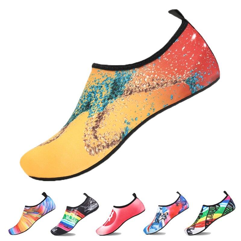 Weiches Wasser Schuhe Sommer Schuhe Frau Upstream Aqua Schuhe Mann Strand Hausschuhe Fluss Sandalen Schwimmen Tauchen Socken Tenis Masculino