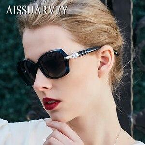Image 3 - 2019 taklidi küçük asetat moda polarize güneş gözlüğü kadınlar için en kaliteli kızlar bayan marka gözlük sürüş güneş gözlüğü