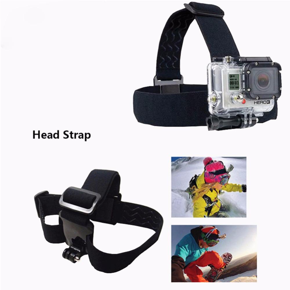 Head Strap for SJCAM 5000+  for GoPro three Way mount